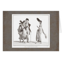 Les Mérveilleuses - 18th Century Fashion Victims Card