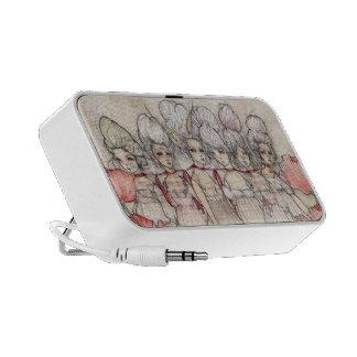 Les Merveilleuses Laptop Altavoz