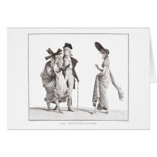 Les Mérveilleuses - víctimas del siglo XVIII de la Tarjeta