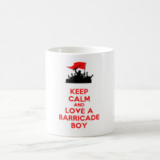 LES MISERABLES BARRICADE BOYS CLASSIC WHITE COFFEE MUG