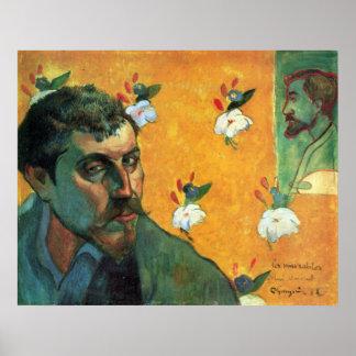 Les Miserables de Eugène Enrique Paul Gauguin Póster