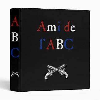 Les Misérables Love: Ami de l'ABC Tricolor Binder