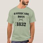 Les Miserables Love: Barricade Boys Shirt