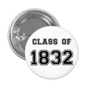 Les Misérables Love: Class of 1832 Button