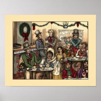 Les Misérables Love: Les Amis Christmas Poster