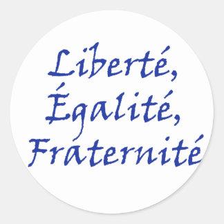 Les Misérables Love: Liberté, Égalité, Fraternité Stickers