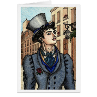 Les Misérables Love: Montparnasse Note Card