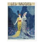 Les Modes Post Card