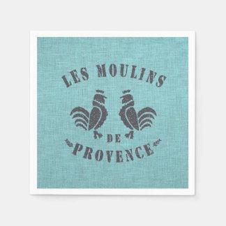Les Moulins De Provence Paper Napkin