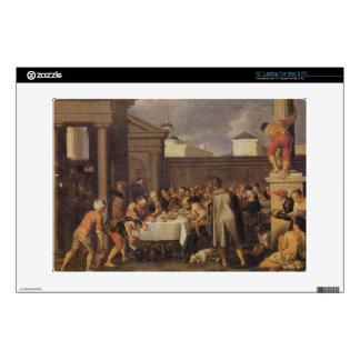 Les noces de Cana 1633 by Pedro Orrente Laptop Decals