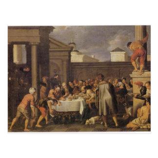 Les noces de Cana 1633 by Pedro Orrente Postcard