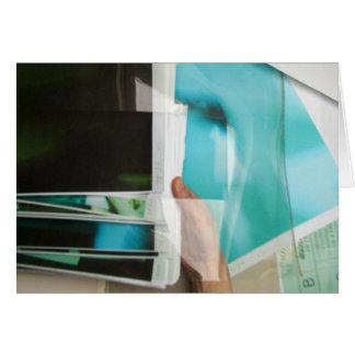 Les Non-Dessins du Jour 2005-2006 Moving Blue Card