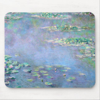 Les Nympheas Water Lilies Claude Monet Fine Art Mouse Pad