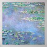 Les Nympheas Water Lilies Claude Monet Fine Art Print