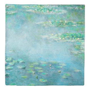 Les Nympheas Water Lilies Monet Fine Art Duvet Cover at Zazzle