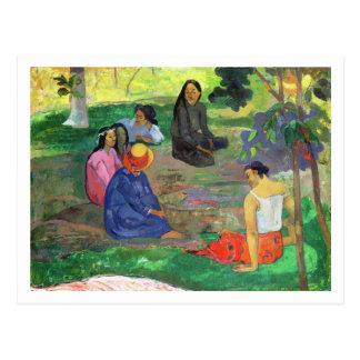 Les Parau Parau (The Gossipers) Postcard