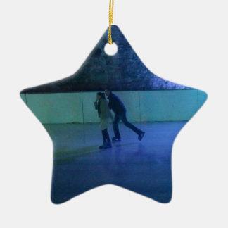Les Patineaux Christmas Ornament