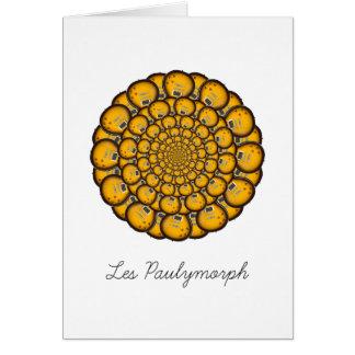 Les Paulymorph Greeting Card