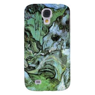 Les Peiroulets Ravine by Vincent van Gogh Samsung Galaxy S4 Case