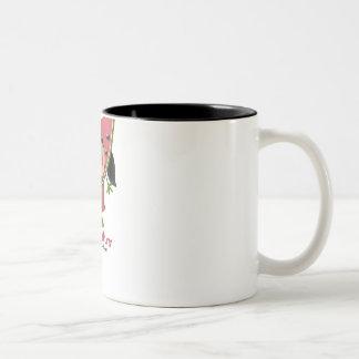 Les petits fruits Two-Tone coffee mug