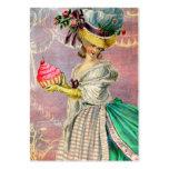 Les Petits Gateaux Marie Antoinette Cupcake & Bird Business Card Templates
