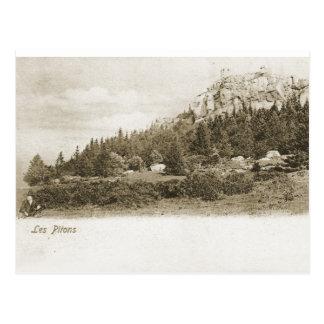 Les Pitons Postcard