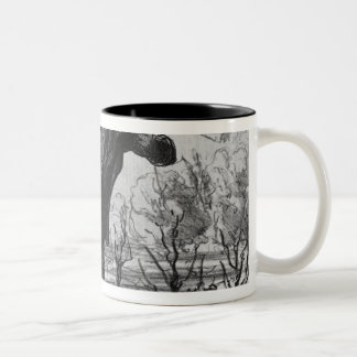 Les Plaisirs de la Villegiature Two-Tone Coffee Mug