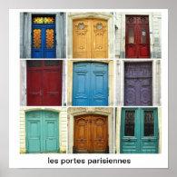 les portes parisiennes posters