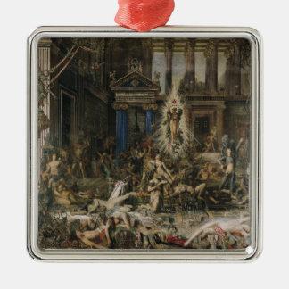 Les Pretendants, 1862-98 Metal Ornament