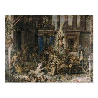 Les Pretendants, 1862-98 Postcard