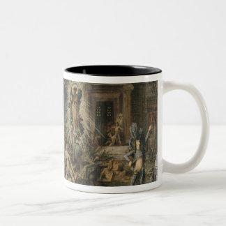 Les Pretendants, 1862-98 Two-Tone Coffee Mug