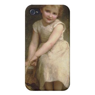 Les Prunes (Plums) William-Adolphe Bouguereau Case For iPhone 4