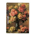 Les Roses dans un Vase by Renoir Dry Erase Boards