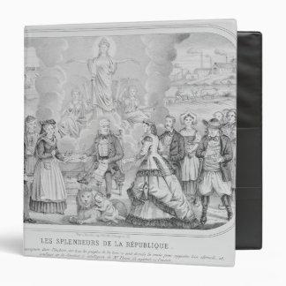 Les Splendeurs de la Republique' , 1872 Binder