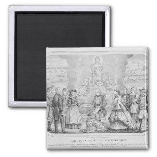 Les Splendeurs de la Republique', 1872 Imán Cuadrado
