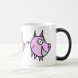 Les the Pig Morphing Mug