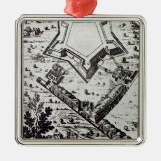 'Les Travaux de Mars, ou L'Art de la Guerre' Metal Ornament