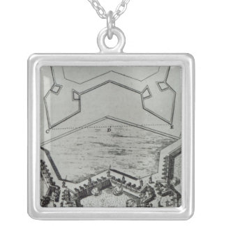 Les Travaux de Mars, ou L'Art de la Guerre' Silver Plated Necklace