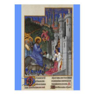 Les Très Riches Heures du duc de Berry Postcard