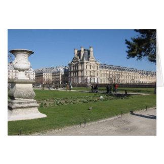 Les Tuileries Card