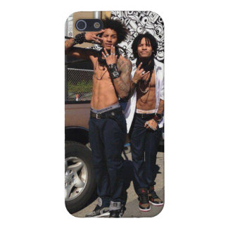 Les Twins Cover For iPhone 5