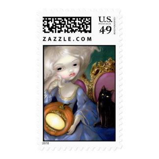 """""""Les Vampires: Lanterne-Citrouille"""" Stamp"""
