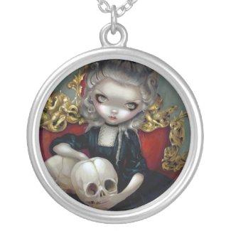 Les Vampires: Les Crânes NECKLACE skull rococo necklace