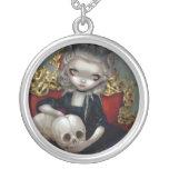 Les Vampires: Les Crânes  NECKLACE skull rococo