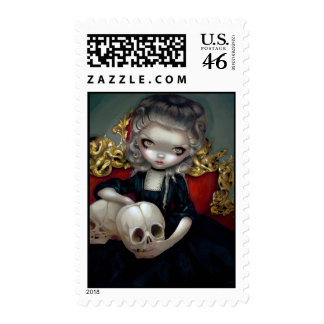 Les Vampires Les Crânes Stamp