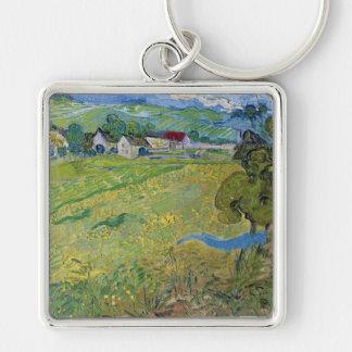 Les Vessenots à Auvers, Vincent Van Gogh Key Chain