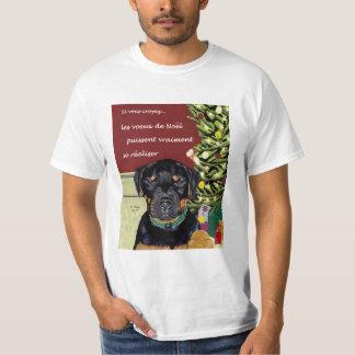 Les Voeux de Noel tee-shirt T Shirt