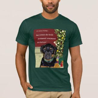 Les Voeux de Noel tee-shirt T-Shirt