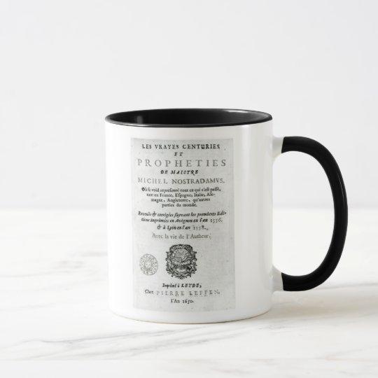 'Les Vrayes Centuries et Propheties Mug