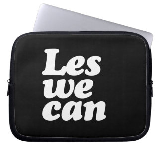 LES WE CAN LAPTOP COMPUTER SLEEVES